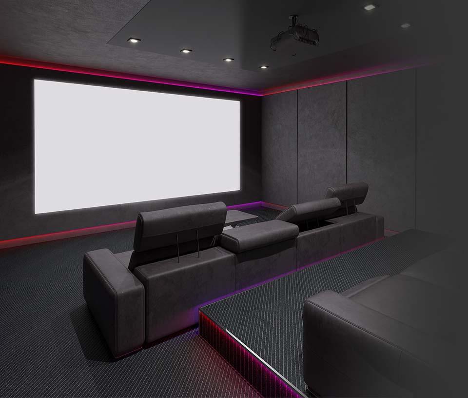 Home Theater Installation Santa Cruz